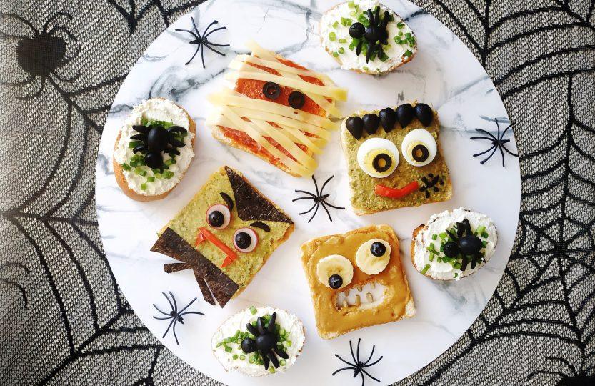 halloweenowe tosty