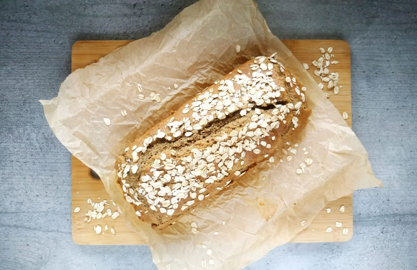 chleb z mąki owsianej